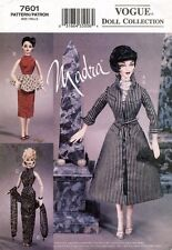 VOGUE Madra Doll Clothes Pattern 7601 UNCUT
