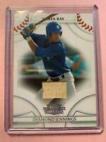 A3063 - 2008 Donruss Threads Bats #96 Desmond Jennings/500