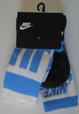 Nike Sportswear Crew Socks University Blue/black/White 2Pk Women's Small 4-6