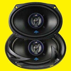 (Pair of 2) Autotek ATS693  6x9 3-Way Speakers 800W