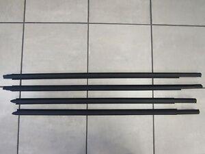 DODGE RAM 1500 QUAD CAB Outer Window Belt Molding Complete Set OEM MOPAR
