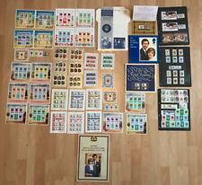 Vintage Prince Charles Lady Diana Wedding Stamps 1981 Various Countys Royal