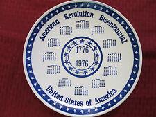 "Collector Plate 10 1/4""  AMERICAN REVOLUTION BICENTENNIAL 1776-1976 USA"
