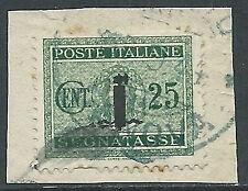 1944 RSI USATO SEGNATASSE 25 CENT - R3-10