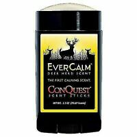 New ConQuest Ever Calm Deer Herd scent stick. Wax Based 2.5 OZ