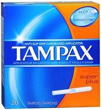 Tampax Tampons Super Plus 20 Each