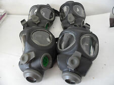 4 x Scott M95 Full Face Respirator NBC Gas Mask Swat Military Police Prepper