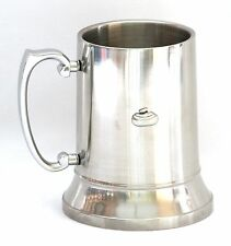 Curling Stone Tankard 1  Pint Pewter Emblem Pub Drinkering Gift Ideal For Sports