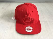 DC SHOES TONEDOWN SNAPBACK 9FIFTY NEW ERA CAP RED  (ONE SIZE)