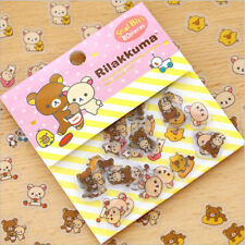 Cute Cartoon Bear Animal Mini Sticker DIY Diary Album Scrapbooking Decoration CN