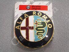 fregio stemma logo ALFA ROMEO MITO POSTERIORE ORIGINALE 74mm FRONT EMBLEM