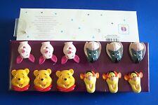 Pooh & Friends Shower Curtain Hooks Disney Piglet Eeyore Tigger Winnie Set of 12