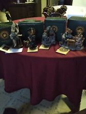 Boyds Bears The Bearstone CoLl.Lot of 4 1st to 5th editions Box Orig.Pack. Look