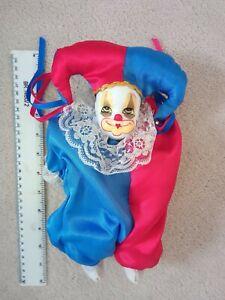 vintage porcelain Head clown/ Jester doll