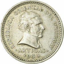 [#737322] Coin, Costa Rica, 5 Centimos, 1953, EF, Stainless Steel, KM:184.1a