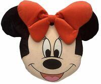 Vintage Disney Store Exclusive MINNIE MOUSE PLUSH Cushion Pillow Head Large