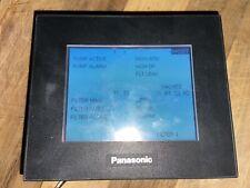 Panasonic Gt05 Aig05gq02d Graphic Display For Plc Interfacing
