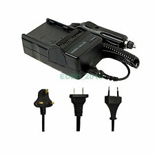 Charger for Sony Cyber-Shot DSC-W30 DSC-W35 DSC W55 W200 W80 W150 W130 Home/Car