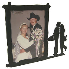 "Western Cowboy Wedding Picture Frame 5""x7"" V"