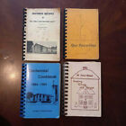 VTG Lot of 4 Church Cookbooks 1960's- 80's Indiana Pennsylvania Retro Recipes