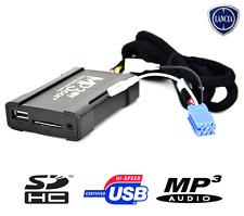 BOÎTIER USB AUXILIAIRE MP3 POUR AUTORADIOS D'ORIGINE LANCIA