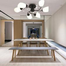 Modern 6-Heads LED Lights Chandelier Hanging Pendant Ceiling Lamp Fixture Indoor