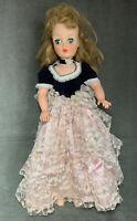 Vintage Horsman Cindy Fashion Doll Cotillion Ball Gown Dress