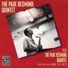 Paul Desmond Quintet and Voices 0025218671224 CD