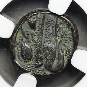 ACHAEMENID EMPIRE, Ionia. 350-333 B.C. Map of Ephesos, NGC F