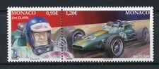 Monaco 2018 MNH Jim Clark Legendary F1 Drivers 2v Set Racing Cars Sports Stamps