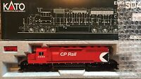 KATO HO SCALE 37-6333 CP RAIL #5559 DIESEL LOCOMOTIVE