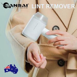 SANSAI Electric Clothes Lint Remover Shaver USB Recharge Portable Fabric Remove