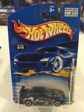 2001 First Edition Hot Wheels  #019  MIP 7/42 Blue Nissan Skyline PR5 Wheels