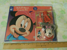 Disney Interactive *Minnie Mouse* PC Computer Kit [CD-ROM, Mouse & Pad, Labels]