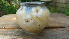 Royal Doulton Small Vase with Prunus Decoration