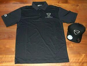 Triumph Motorcycle Collared Shirt (Nike Golf) and Baseball Hat Cap - 2012 Dealer