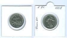 Francia 1 Franco 1998 fior di conio KMS Solo 25.000 Pezzo