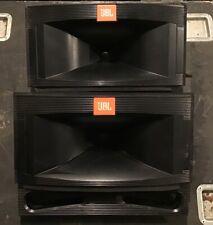 JBL TR126 125 105 TR SERIES Speaker Horn Flares W/ Bass Ports Threaded PAIR