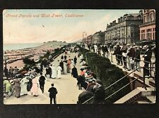 RP Vintage Postcard - Sussex #A22 - Grand Tower, Eastbourne - Valentine 1905