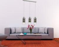 LED Hängeleuchte Esstisch Pendellampe Esszimmer Lampe Pendelleuchte 65cm lang