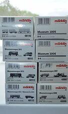 Märklin 9x Museumswagen Set 48005,48006,48007,48008,48009,48110,48111,48112*NEU*