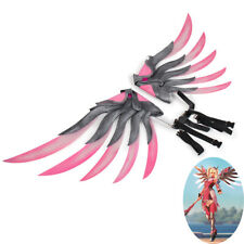 OW Pink Mercy Charity Skin Wings Cosplay Prop Version 1