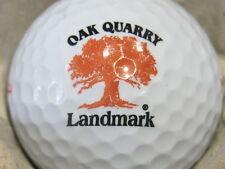 (1) Oak Quarry Landmark Golf Course Logo Golf Ball