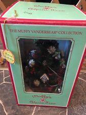 "VINTAGE 1992 Muffy Vanderbear Alpine Christmas Tree Fully Decorated Approx 11"""