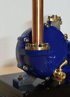 Live steam, engine, model turbine, miniature engineering, kit unmachined