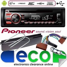Ford Focus Fitting Kit With Pioneer CD MP3 USB AUX-IN Car Stereo Radio Player