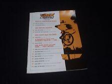 NOS VINTAGE ORIGINAL SUPER BMX & FREESTYLE! MAR 1988 MAGAZINE VOL. 15, NO. 3
