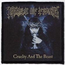 CRADLE OF FILTH PATCH / SPEED-THRASH-BLACK-DEATH METAL