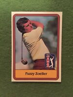 FUZZY ZOELLER ROOKIE GOLF RC PGA Tour 1981 Donruss Golf #46 ProGolf Stars ROOKIE