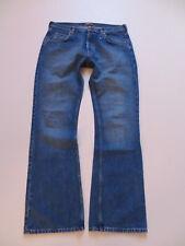 Lee DENVER Schlag Jeans Hose, W 36 /L 34, mid washed Denim, flared Schlaghose !